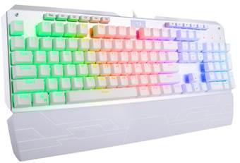 Redragon K555W INDRAH RGB Mechanical Gaming Keyboard White