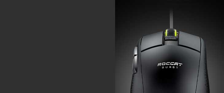 ROCCAT Burst Core Gaming Mouse - Black