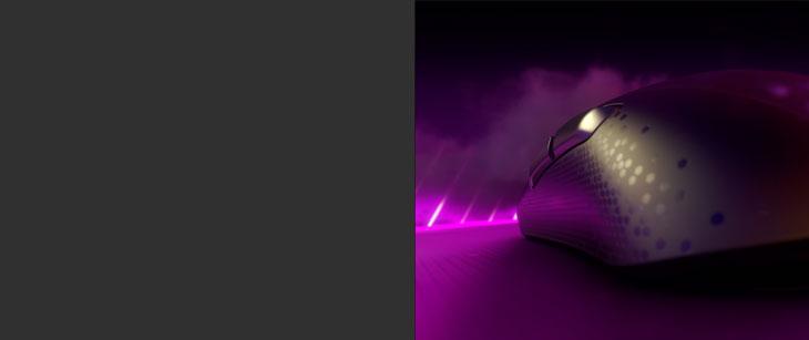 ROCCAT Burst Pro Gaming Mouse - Black
