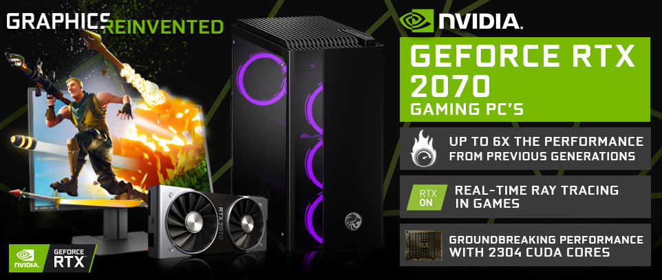 NVIDIA RTX 2070 Gaming PCs South Africa