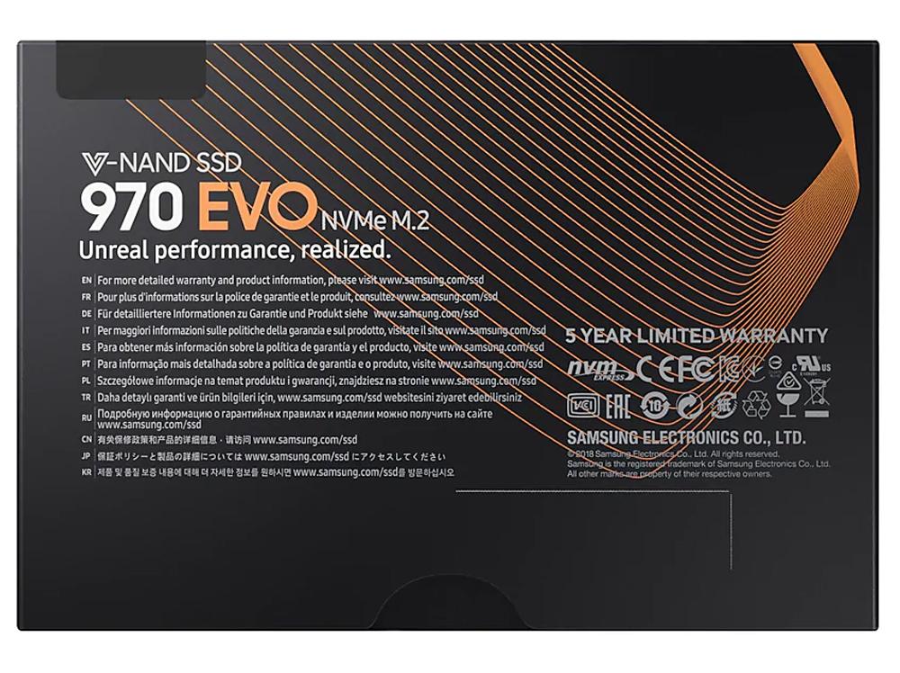 Samsung 970 EVO 2TB NVMe SSD