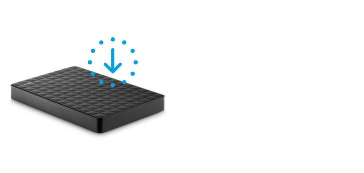 Seagate 2TB Expansion Portable External Hard Drive