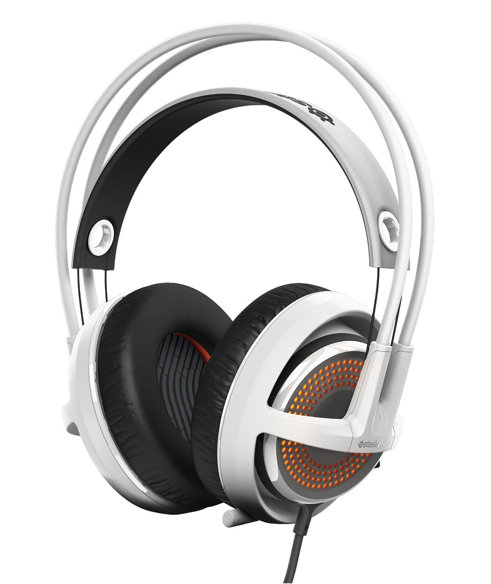 b6d7a385dca SteelSeries Siberia 350 Gaming Headset White