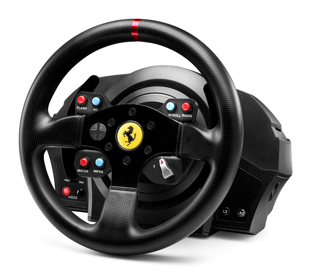 thrustmaster 4160609 t300 ferrari gte racing wheel. Black Bedroom Furniture Sets. Home Design Ideas