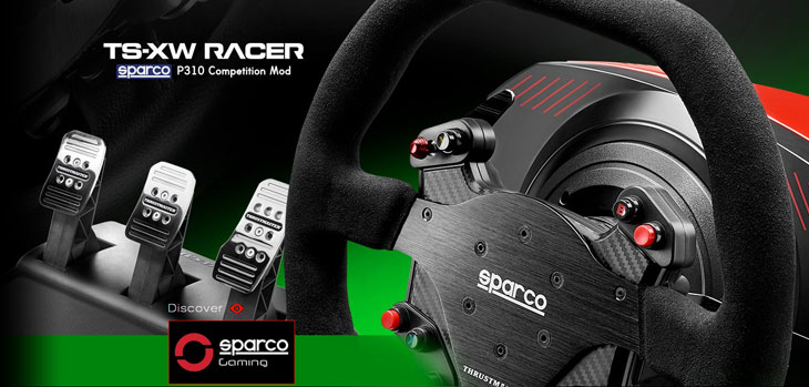 Thrustmaster TS XW Racer Sparco P310 Racing Wheel