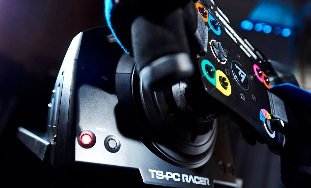 thrustmaster ts pc racer racing wheel best deal south. Black Bedroom Furniture Sets. Home Design Ideas