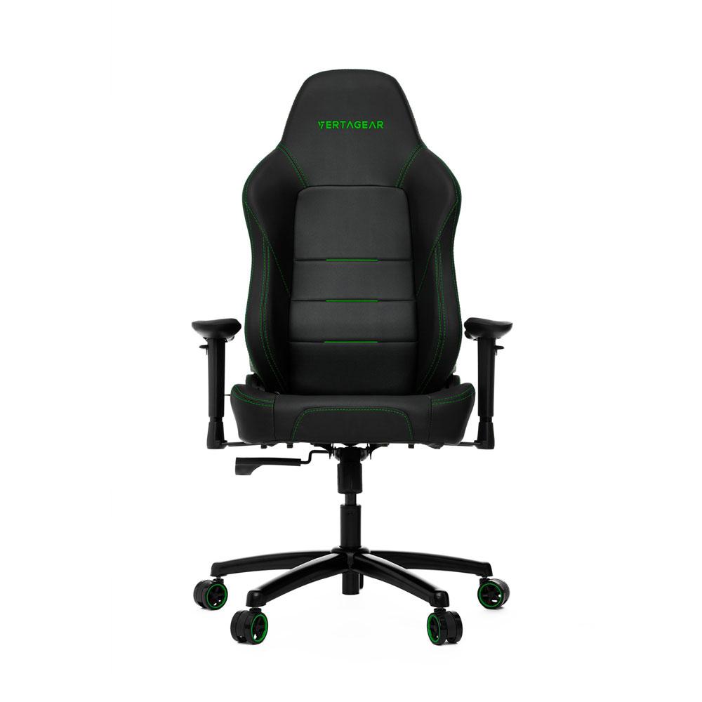Vertagear PL1000 Gaming Chair - Black/Green
