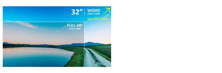 "ViewSonic VX3276-2K-mhd 32"" Entertainment Monitor"
