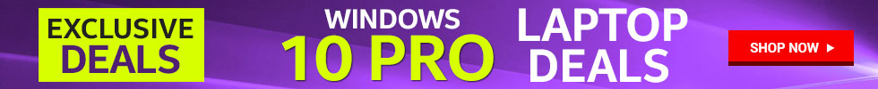 Windows 10 Pro Laptop Deals