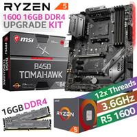 AMD RYZEN 5 1600 B450 Tomahawk 16GB Upgrade Kit