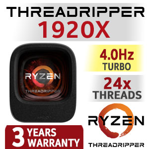 RYZEN Threadripper 1920X Processor