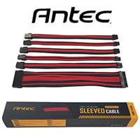 Antec 6 Piece PSU Sleeved Cable Set