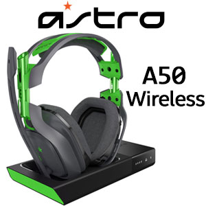 Astro A50 Wireless Gaming Headset DK GRAY