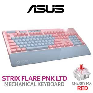 ASUS ROG Strix Flare PNK LTD Mechanical Keyboard