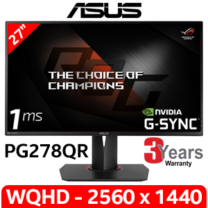 "ASUS ROG Swift PG278QR 27"" WQHD Gaming Monitor"