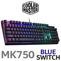 CM MasterKeys MK750 RGB Gaming Keyboard - Blue Switch