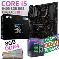 Core i5 9400 MSI Z390-A Pro 8GB RGB Upgrade Kit