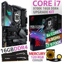 Core i7 9700K ROG Strix Z390-F 16GB DDR4 Upgrade Kit