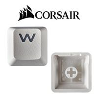 Corsair Gaming PBT Double-shot Keycaps - White