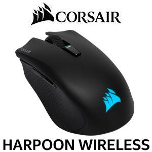 19300c4aec9 Corsair Harpoon RGB Wireless Gaming Mouse / Advance Optical Sensor With  10,000 DPI / Dynamic RGB
