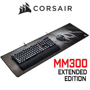 Corsair MM300 Anti-Fray Cloth Extended Gaming Mouse Pad
