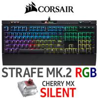 Corsair Strafe MK.2 RGB Gaming Keyboard - Cherry MX Silent