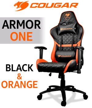 Cougar Armor One Gaming Chair - Orange