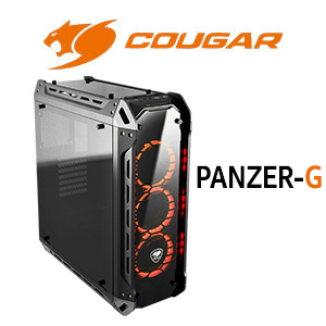 Cougar Panzer-G Tempered Glass Gaming Case