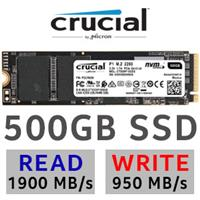 Crucial P1 500GB NVMe SSD