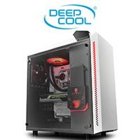 DeepCool Baronkase Liquid Gaming Case - White