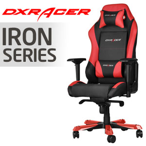 DXRacer Iron Series Black & Red Chair