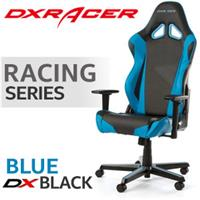 DXRacer Racing Series Gaming Chair - Blue/Black