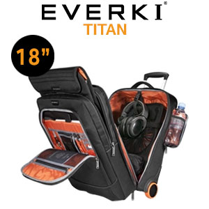 "EVERKI EKB420 TITAN 15.6"" to 18.4"" Laptop Trolley Bag"