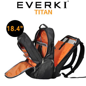 "EVERKI TITAN EKP120 18.4"" Notebook Backpack"