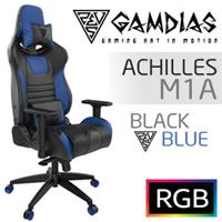 Gamdias Achilles M1A Gaming Chair - Black/Blue