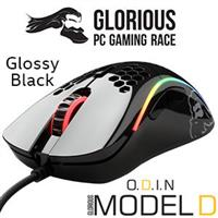 Glorious Model D Ergonomic Mouse - Glossy Black