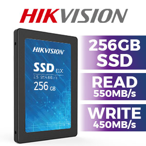 "Hikvision E100 256GB 2.5"" SSD"