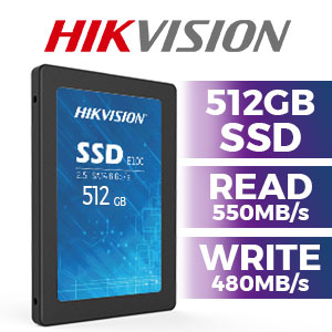 Hikvision E100 512GB SSD