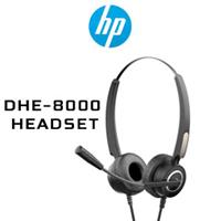 HP DHE-8000 USB Headset - Black