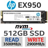 HP EX950 M.2 512GB  PCl-e NVMe Internal SSD