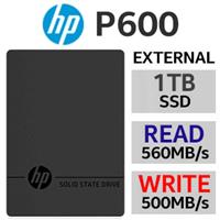 HP P600 1TB Type-C External SSD