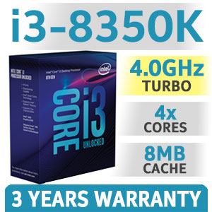 Intel Core i3 8350K 8th Gen Processor