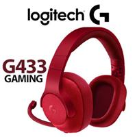 Logitech G433 7.1 Gaming Headset Red