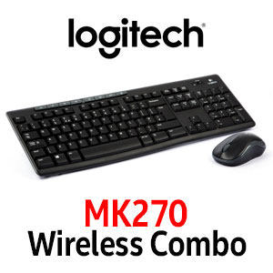 Logitech MK270 Wireless Keyboard And Mouse Combo