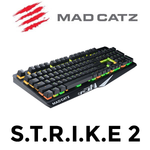 Mad Catz S.T.R.I.K.E. 2 RGB Gaming Keyboard