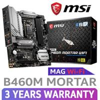 MSI MAG B460M MORTAR WiFi Motherboard