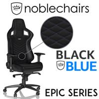noblechairs EPIC Series Gaming Chair - Black/Blue