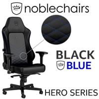 noblechairs HERO Series Gaming Chair - Black/Blue