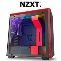 NZXT H700i Gaming Case Black/Red