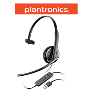 Plantronics Blackwire C310-M Monaural Corded Headset